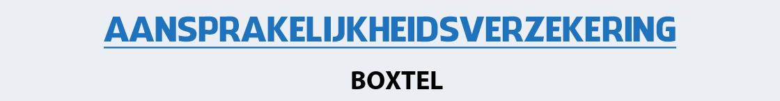 aansprakelijkheidsverzekering-boxtel