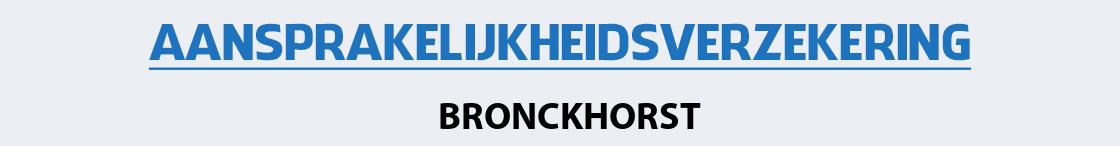 aansprakelijkheidsverzekering-bronckhorst
