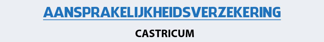 aansprakelijkheidsverzekering-castricum