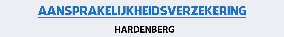 aansprakelijkheidsverzekering-hardenberg