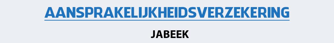 aansprakelijkheidsverzekering-jabeek
