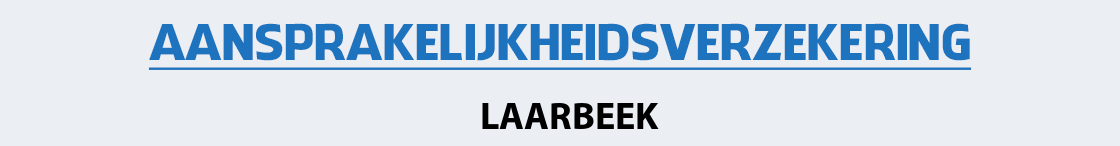 aansprakelijkheidsverzekering-laarbeek