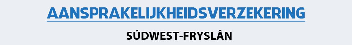 aansprakelijkheidsverzekering-sudwest-fryslan