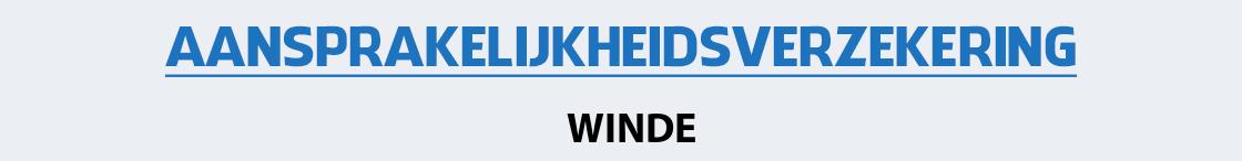 aansprakelijkheidsverzekering-winde
